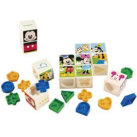 学研のディズニー知育玩具<br>ディズニーティンカーキッズ<br>わくわくちえキューブ