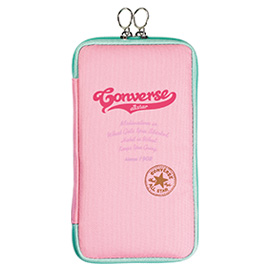 CONVERSE コンバース<br>フラットペンポーチ(ピンク)