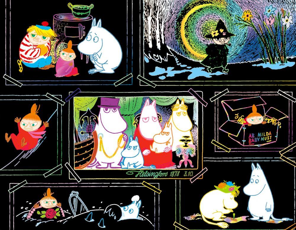 MOOMIN 大人のためのヒーリングスクラッチアート(ムーミン谷の物語)