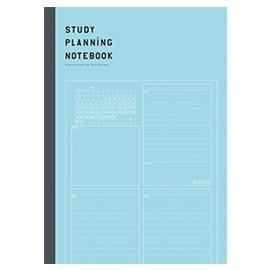 勉強計画ノート(ブルー) QuizKnock×Gakken