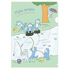 11ぴきのねこ 馬場のぼる<br> A4ファイル(さかなつり)