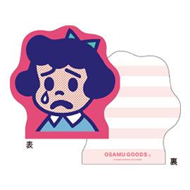 OSAMU GOODS オサムグッズ<br>ダイカットメモ(ベティ)