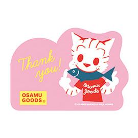 OSAMU GOODS オサムグッズ<br>ネームカード(キャット)