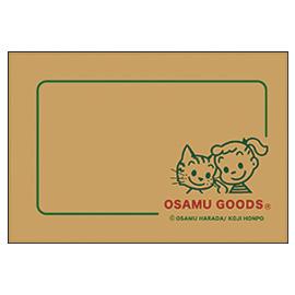 OSAMU GOODS オサムグッズ<br>ネームカード(ジル&キャット)