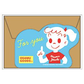 OSAMU GOODS オサムグッズ<br>ネームカード(ジル)
