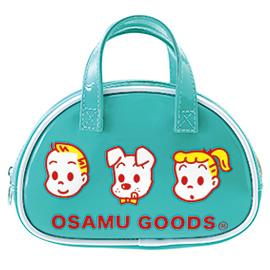 OSAMU GOODS オサムグッズ<br>ボストン型ポーチ(ターコイズ)