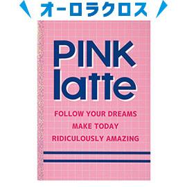 PINK-latte ピンクラテ<br>B5ノート(罫線チェック)