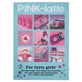PINK-latte ピンクラテ<br>下敷き(フォト)