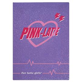 PINK-latte ピンクラテ<br>下敷き(ハート)