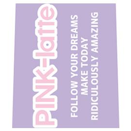 PINK-latte ピンクラテ<br>鉛筆キャップ(ロゴ)
