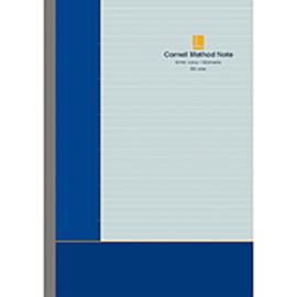 コーネルメソッド B5綴じノート(罫線)