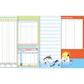 MOOMIN ムーミン<br>A5家計簿(ピンク花)