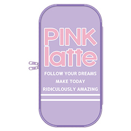 PINK-latte ピンクラテ<br>ペンポーチ(ロゴ)