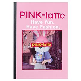 PINK-latte ピンクラテ<br>B5ノート(フォト)
