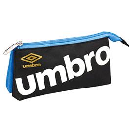 umbro アンブロ<br>ツインペンポーチ(BK)
