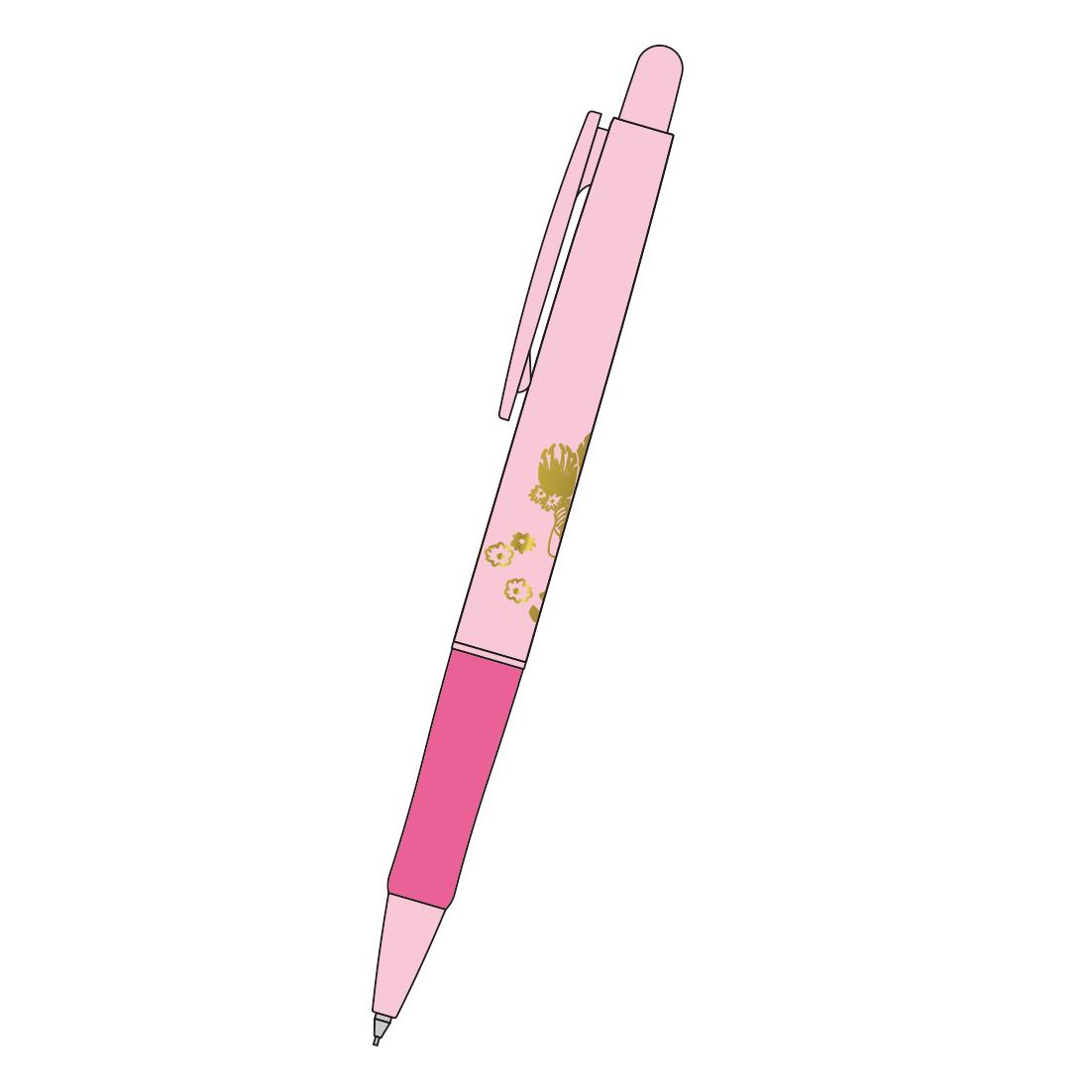 MOOMIN ムーミン<br>M/Mボールペン(ピンク)