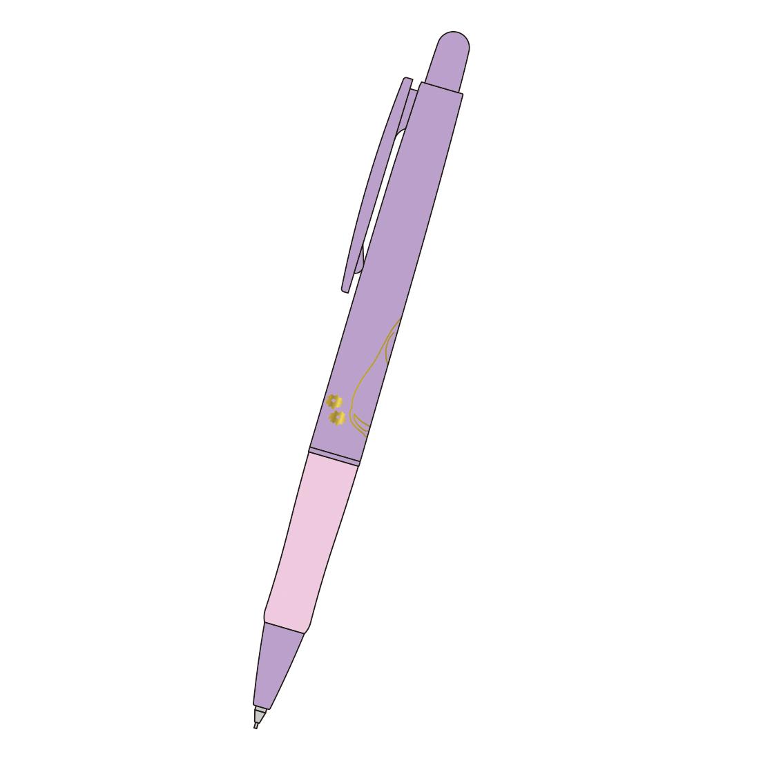 MOOMIN ムーミン<br>ボールペン(ラベンダー)