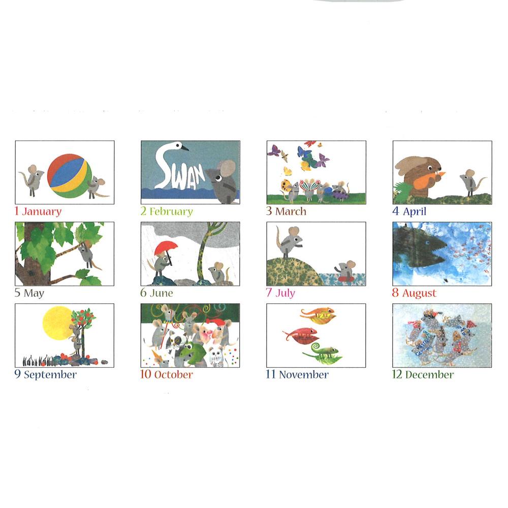 レオ・レオニ卓上カレンダー