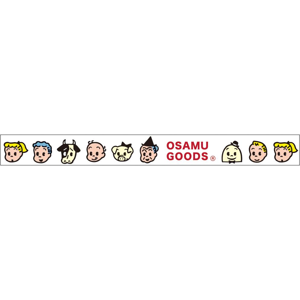 OSAMU GOODS オサムグッズ<br>透明マスキングテープ15(顔)