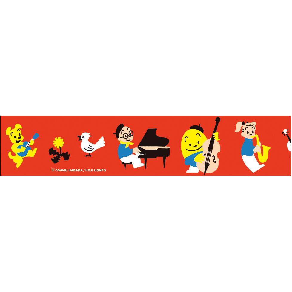 OSAMU GOODS オサムグッズ<br>透明マスキングテープ30(音楽)