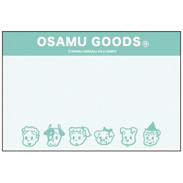 OSAMU GOODS オサムグッズ<br>カセットテープメモ(顔)