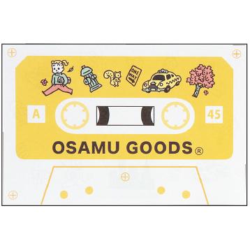 OSAMU GOODS オサムグッズ<br>カセットテープメモ(トラベル)