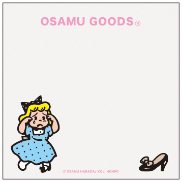 OSAMU GOODS オサムグッズ<br>ブロックメモ(ハンプティ)