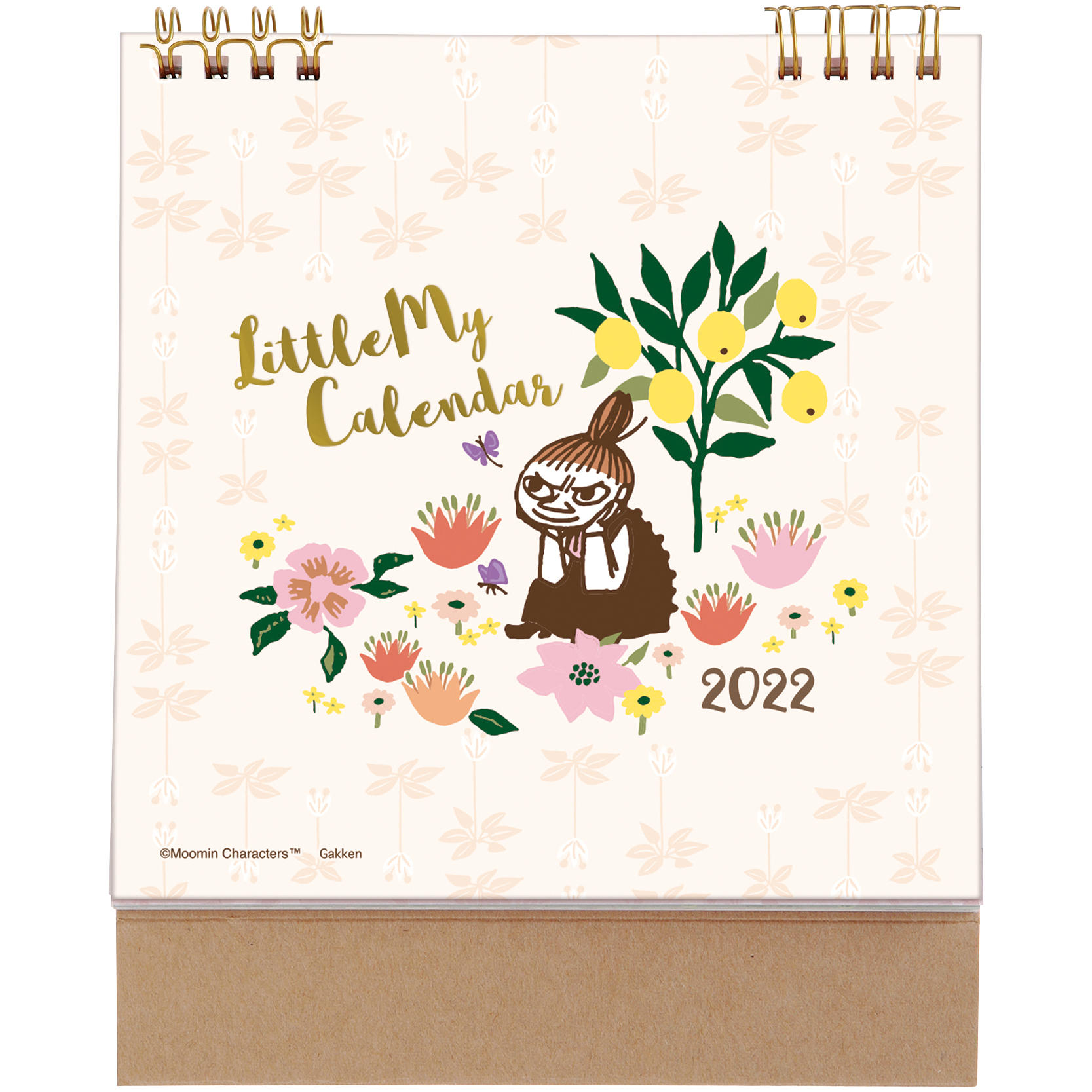 MOOMIN  リトルミイ卓上カレンダー