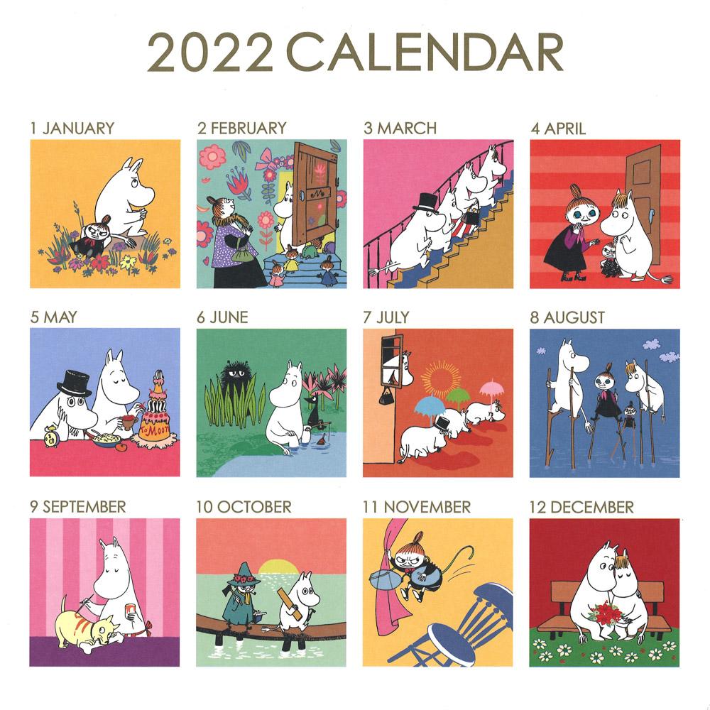 MOOMIN  ムーミンスクエアカレンダー