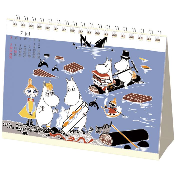 MOOMIN  ムーミンリング卓上カレンダー