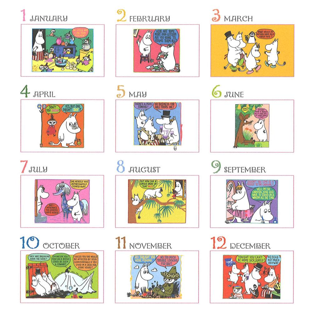 MOOMIN  ムーミン原画卓上カレンダー