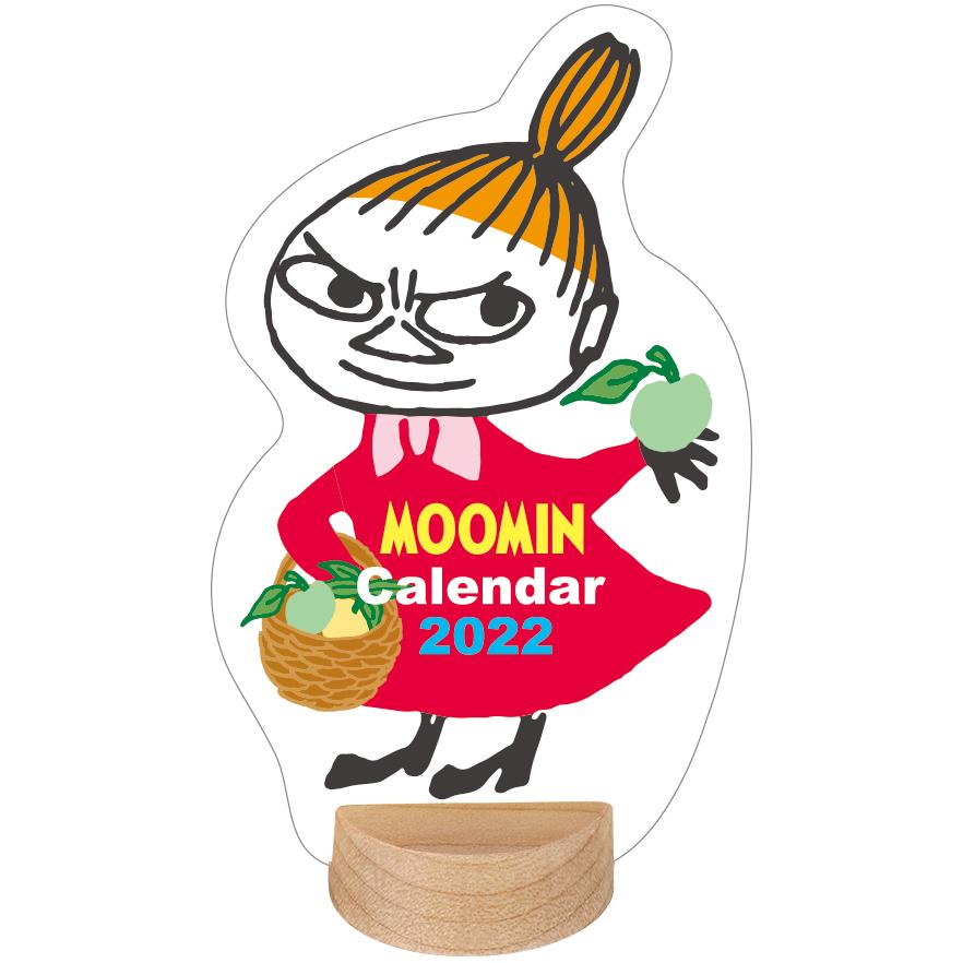 MOOMIN  ムーミンデスクミニカレンダー(リトルミイ)