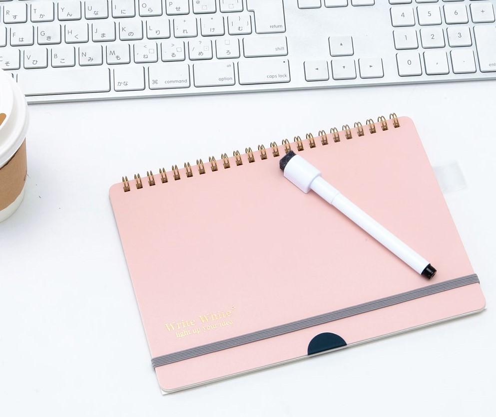 定番ホワイトボードノート『Write White』の進化版『Write White⁺(ライトホワイト プラス)』を発売!!